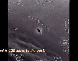 Mỹ công bố video F-18 rượt đuổi UFO trên Thái Bình Dương