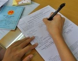 Giả mạo chữ ký và con dấu Cục Con nuôi để hợp thức hồ sơ