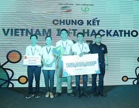 """Đại học Lạc Hồng vô địch cuộc thi """"Vietnam IoT Hackathon 2017"""""""