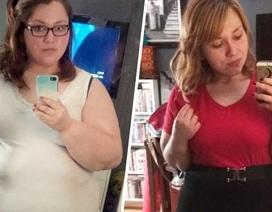 Hành trình gian nan giảm hơn 80 kg của cô gái trẻ