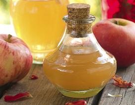 Sự thật về tác dụng giảm cân của giấm táo