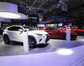 Lexus lần đầu đưa động cơ hybrid về Việt Nam