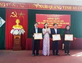 Hà Nam: Công nhận 43 giáo viên được giáo viên dạy giỏi cấp THPT
