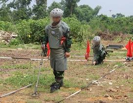 Phái đoàn Gìn giữ hòa bình LHQ đánh giá cao khả năng rà phá bom mìn của Công binh Việt Nam