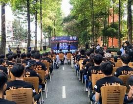 Đoàn Thanh niên Công ty Truyền tải điện 4 hưởng ứng chiến dịch Giờ Trái đất năm 2017