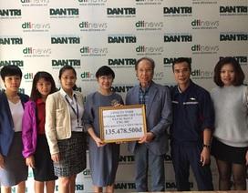 GM Việt Nam ủng hộ hơn 135 triệu đồng giúp đồng bào miền Trung bị lũ lụt