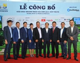 Sôi động giải Golf Doanh nhân Sài Gòn năm 2017