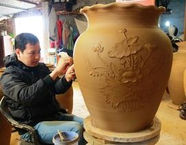 Ninh Bình: Làng gốm đỏ lửa phục vụ Tết Nguyên Đán Đinh Dậu