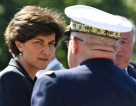 Vì sao Bộ trưởng Quốc phòng Pháp đột ngột từ chức?