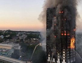 Chập điện tủ lạnh bị nghi là nguyên nhân gây cháy chung cư 24 tầng