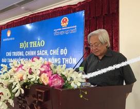 GS.TS. Phạm Tất Dong: Phải dạy nghề theo đúng tinh thần xã hội học tập