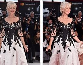 Helen Mirren: 72 tuổi vẫn rạng rỡ