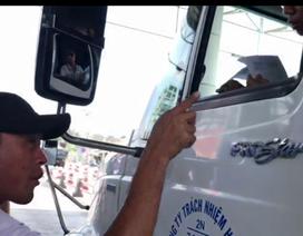 Đối tượng hù dọa tài xế qua trạm BOT hành nghề chạy xe ôm