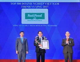 Nutifood đứng trong top 10 doanh nghiệp Việt Nam thịnh vượng