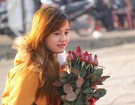 """Những bó hồng đầy ý nghĩa ngày Valentine """"hút"""" khách"""