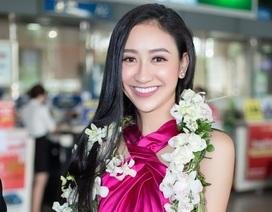 Hà Thu rạng rỡ về nước sau thành tích Top 16 Miss Earth 2017