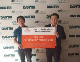 Công ty Hải Đăng ủng hộ đồng bào bị lũ quét ở Yên Bái hơn 331 triệu đồng