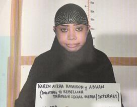 """Philippines bắt """"nữ quái"""" chuyên chiêu mộ khủng bố"""