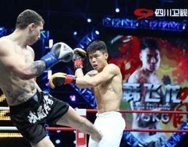 Cao thủ Thái Cực Quyền hạ gục cựu vô địch Kickboxing