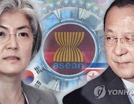 """Ngoại trưởng Hàn Quốc, Triều Tiên """"chạm mặt"""" bên lề hội nghị ASEAN"""