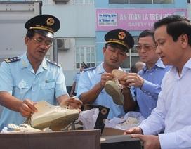 """Bị doanh nghiệp Lào nhờ Đại sứ quán """"đòi""""  số hàng """"hiệu"""" tạm giữ, Hải quan Hải Phòng nói gì?"""