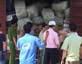 """Niêm phong hơn 10 tấn hàng hoá """"mập mờ"""" nguồn gốc tại ga Sài Gòn"""