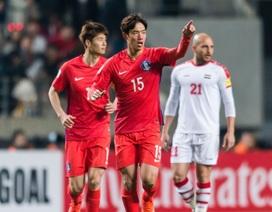 Hàn Quốc tìm lại cảm hứng chiến thắng sau cú sốc trước Trung Quốc