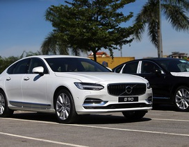 Volvo S90 gia nhập cuộc cạnh tranh phân khúc sedan hạng sang