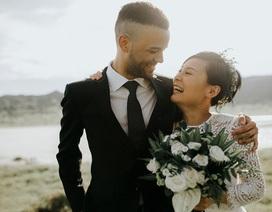 Cặp đôi ngoại quốc chụp ảnh cưới ở Việt Nam sau một năm hẹn hò qua mạng
