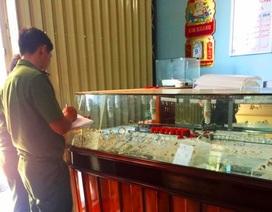 18 giờ truy lùng nhóm nghi can trộm hơn 100 lượng vàng