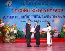 Bổ nhiệm GS.TS Nguyễn Quý Thanh làm Hiệu trưởng Trường ĐH Giáo dục