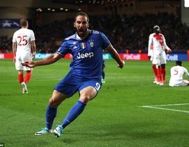 Monaco 0-2 Juventus: Higuain lập cú đúp