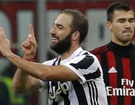 Higuain rực sáng, Juventus hạ gục AC Milan