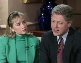 Bà Hillary Clinton trải lòng về cuộc hôn nhân trắc trở