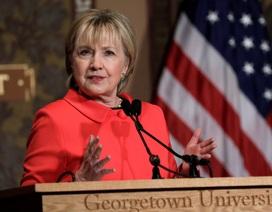 Bà Clinton chỉ trích ông Trump vì cắt giảm ngân sách Bộ Ngoại giao