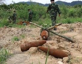 Phát hiện quả bom nặng hơn 200kg còn nguyên kíp nổ