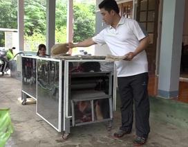 Độc đáo máy nướng bánh tráng đa năng bằng tia hồng ngoại