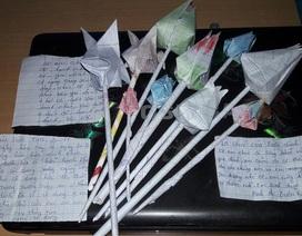Rơi nước mắt với thiệp 20/11 của học sinh người Ca Dong