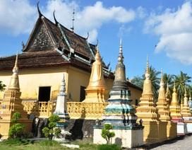Nét đẹp kiến trúc chùa Khmer ở An Giang
