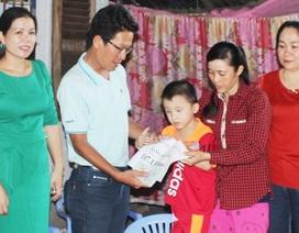 Hơn 107 triệu đồng tiếp tục đến với cháu Nguyễn Đức Trung