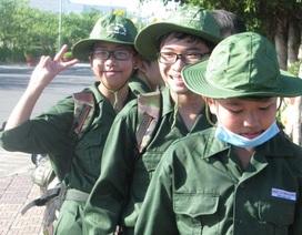 """Hơn 100 học sinh tham gia """"Học kỳ quân đội"""""""