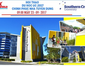 Hội thảo du học Úc 2017 - Cùng Đại học Southern Cross chinh phục nhà tuyển dụng