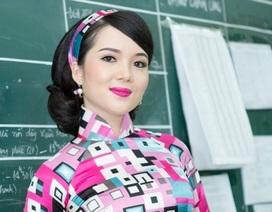 Hoa khôi Huỳnh Thúy Vi gửi lời chúc mừng Ngày Nhà giáo Việt Nam