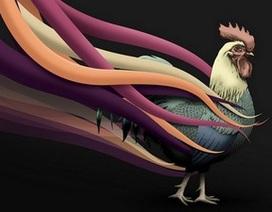 Mang sắc xuân Đinh Dậu lên máy tính với bộ sưu tập hình gà đẹp mắt