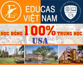 Hội thảo học bổng 100% các trường trung học Mỹ