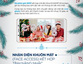 Sở hữu Vivo V7 – Bắt ngay khoảnh khắc selfie cực chất của mùa Giáng sinh