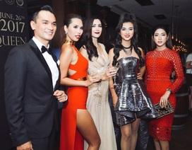 Hoa hậu Hoàn vũ thế giới 2005 sang Việt Nam dự tiệc cùng dàn sao