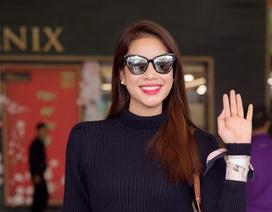 Hoa hậu Phạm Hương tái xuất sau kỳ nghỉ dài ngày vì mổ mắt