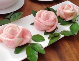 """Hoa hồng """"ăn được"""" tái xuất hút khách Hà thành dịp 20/10"""