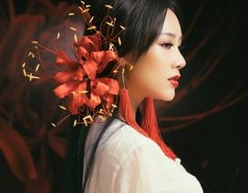 Vợ NSƯT Việt Hoàn gây sốt khi hoá nhân vật trong phim cổ trang ma mị